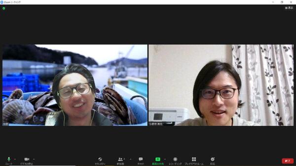 RE:SiDE リザイド副業レポート1 小野寺寿光さんが副業している中野えびす丸 代表 中野圭さんとのzoomでの会議